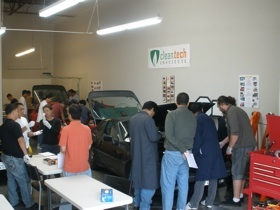 Certified Electric Vehicle Techncian workshop