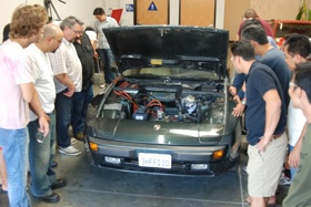 Certified Electric Vehicle Technician workshop