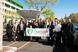 Certified Electric Vehicle Technicians Class Graduation 02-2012