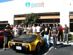 Certified Electric Vehicle Technician Class September 2011- Orange County- Clean Tech Institute