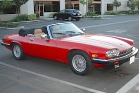 Electric Jaguar XJS