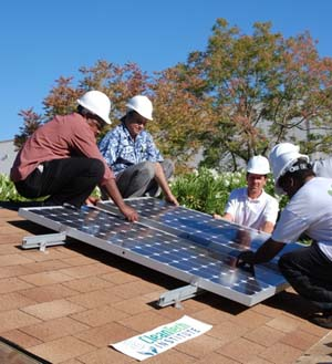 Clean Tech Institute- PV Installation