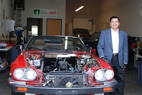 Lloyd Tran & Electric Jaguar